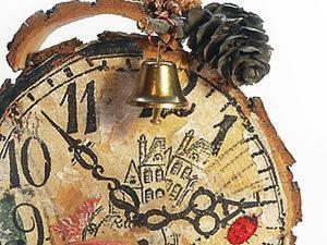 Быстро и просто делаем интерьерные часы в стиле «рустик». Ярмарка Мастеров - ручная работа, handmade.