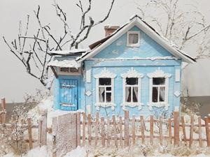Мастерим деревенский домик своими руками. Ярмарка Мастеров - ручная работа, handmade.