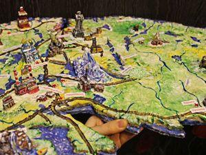 Мастерим из подручных материалов трехмерный географический макет Кольского полуострова. Ярмарка Мастеров - ручная работа, handmade.