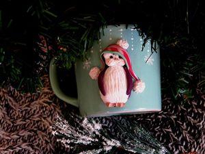 Создаем новогодний декор. Пингвиненок из полимерной глины. Ярмарка Мастеров - ручная работа, handmade.