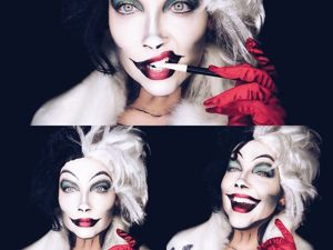 40+ Dreadfully Beautiful Halloween Makeup + 10 Interesting Facts About Holiday. Livemaster - handmade