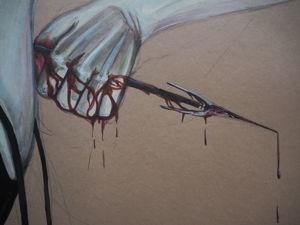 Положи меня, как печать на сердце твое. Ярмарка Мастеров - ручная работа, handmade.