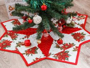 Шьем юбку для новогодней елки. Ярмарка Мастеров - ручная работа, handmade.
