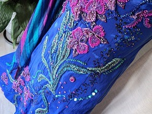 Мастер-класс: вышивка платья бисером. Часть четвёртая: заключительная. Ярмарка Мастеров - ручная работа, handmade.