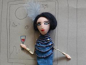 Приемы при создании авторской куклы: расставляем акценты. Ярмарка Мастеров - ручная работа, handmade.