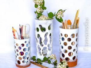 Люблю объемные стаканы. Ярмарка Мастеров - ручная работа, handmade.