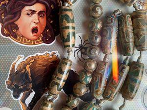 Сияние богов: о бусинах дзи и их значениях. Ярмарка Мастеров - ручная работа, handmade.