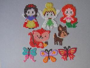 Детские алмазные аппликации. Ярмарка Мастеров - ручная работа, handmade.