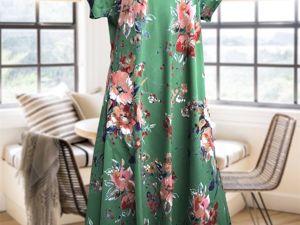 Платье Флора в новых расцветках. Ярмарка Мастеров - ручная работа, handmade.