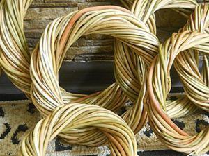 Интерьерные веночки из веточек ивы. Ярмарка Мастеров - ручная работа, handmade.