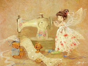 Очаровательные феи Екатерины Бабок. Ярмарка Мастеров - ручная работа, handmade.