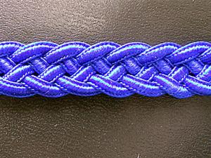 Плетеный пояс или браслет. Схема плетения из пяти шнуров. Часть 1.. Ярмарка Мастеров - ручная работа, handmade.