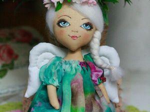 Шьем куколку «Весенний ангелочек». Ярмарка Мастеров - ручная работа, handmade.
