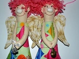 Мастер класс Новогодний Ангел Ерошка. Ярмарка Мастеров - ручная работа, handmade.