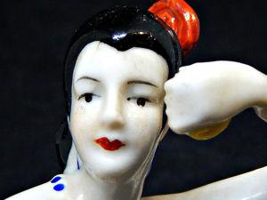 Half Doll Крупная половинка куклы Elegant Victorian Young Lady. Ярмарка Мастеров - ручная работа, handmade.