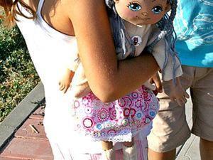 Шьём веселую куклу для девочки. Ярмарка Мастеров - ручная работа, handmade.