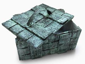 Делаем оригинальный ящик из картона. Ярмарка Мастеров - ручная работа, handmade.