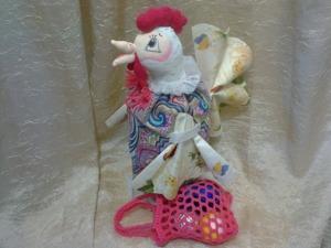 Шьем пасхальную курочку «Хранительница кулича». Ярмарка Мастеров - ручная работа, handmade.