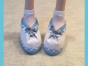 Шьем туфельки для куколки. Ярмарка Мастеров - ручная работа, handmade.