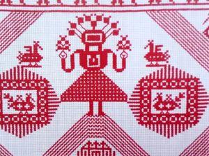 Птицы в славянской обережной вышивке. Ярмарка Мастеров - ручная работа, handmade.