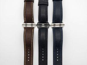 Новый ассортимент. Ремешки для Apple Watch. Ярмарка Мастеров - ручная работа, handmade.