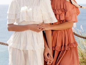 Linnette. Платье в викторианском стиле. Fit & Flare. Ярмарка Мастеров - ручная работа, handmade.
