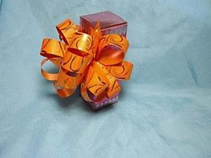 Делаем декоративный бант-шар. Ярмарка Мастеров - ручная работа, handmade.