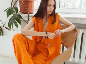 Конкурс коллекций от магазина ELENLINE44 /Одежда изо Льна. Ярмарка Мастеров - ручная работа, handmade.