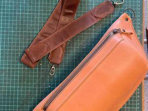 Новая удобная сумка на подходе. Ярмарка Мастеров - ручная работа, handmade.