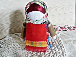 Мастерим народную куклу Зерновушку. Ярмарка Мастеров - ручная работа, handmade.