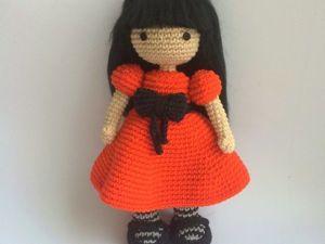 Вяжем куклу по мотивам Сьюзен Вулкотт. Ярмарка Мастеров - ручная работа, handmade.