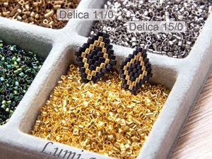 Новинки: Delica 15/0!. Ярмарка Мастеров - ручная работа, handmade.