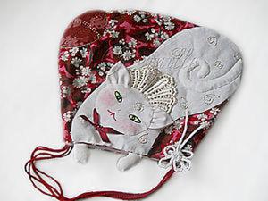 """Омияге. Сумочка """"Голландская кошка"""" (часть 2). Ярмарка Мастеров - ручная работа, handmade."""