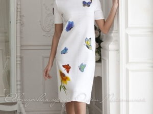 Аукцион на Вязаное  платье! Старт 6500 руб.!. Ярмарка Мастеров - ручная работа, handmade.
