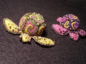Создаем забавную черепашку из фетровых спиралей. Ярмарка Мастеров - ручная работа, handmade.