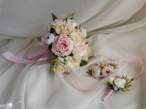 Свадебная флористика, букет-дублер. Ярмарка Мастеров - ручная работа, handmade.