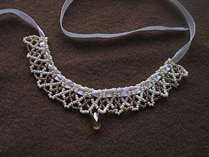 """МК Ожерелье из бисера """"Сказка"""". Ярмарка Мастеров - ручная работа, handmade."""
