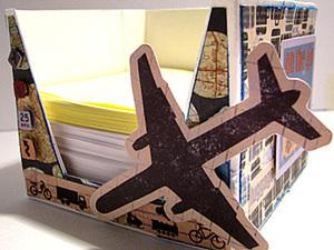 Делаем коробочку для записных листочков. Ярмарка Мастеров - ручная работа, handmade.