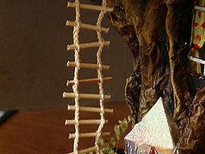 Веревочная лестница для домика. Ярмарка Мастеров - ручная работа, handmade.