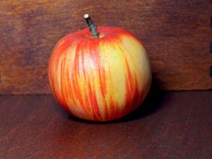 Ватное яблоко (бескаркасные ватные игрушки). Ярмарка Мастеров - ручная работа, handmade.