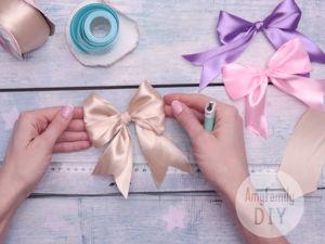 How to Tie Bow: 4 Ways. Livemaster - handmade