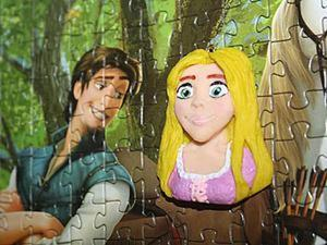 Лепим принцессу Рапунцель из полимерной глины. Ярмарка Мастеров - ручная работа, handmade.