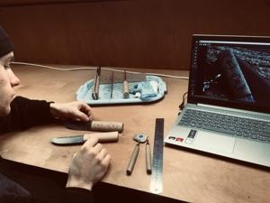 Резные узоры на рукоятях ножей. Ярмарка Мастеров - ручная работа, handmade.