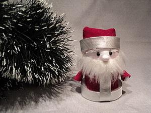 Мастерим маленького Дедушку Мороза. Ярмарка Мастеров - ручная работа, handmade.