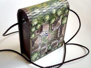 Делаем миниатюрную сумочку. Ярмарка Мастеров - ручная работа, handmade.
