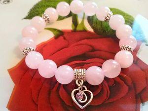 Браслет Розовый кварц для привлечения любви. Ярмарка Мастеров - ручная работа, handmade.