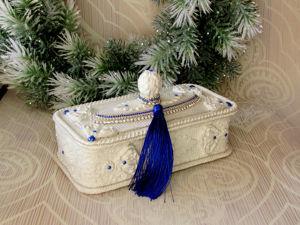 Дополнительные фото — Шкатулка  «Халиса». Ярмарка Мастеров - ручная работа, handmade.