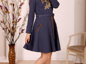 Моя любимое зимнее платье. Ярмарка Мастеров - ручная работа, handmade.