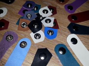 Делаем кожаную застежку для сумочек на кнопке. Ярмарка Мастеров - ручная работа, handmade.
