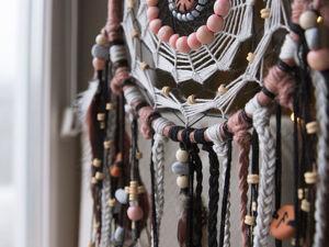 Плетём нестандартную паутину для ловца снов (продолжение). Ярмарка Мастеров - ручная работа, handmade.